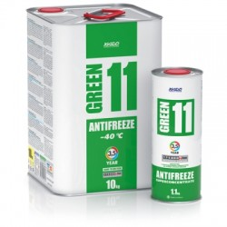 Antifreeze GREEN 11/-40 °C
