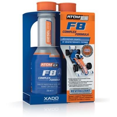 Diesel lisäaine - Atomex F8 Complex Formula (Diesel)